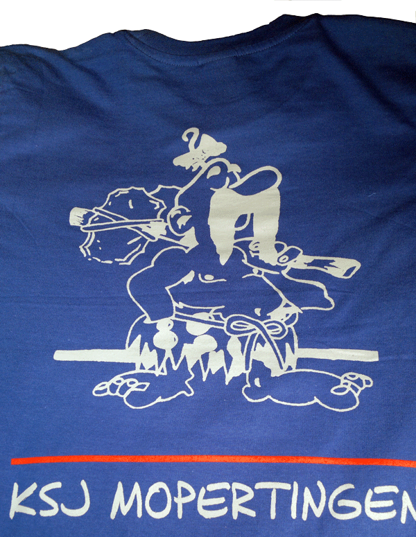 T-shirt Achterkant